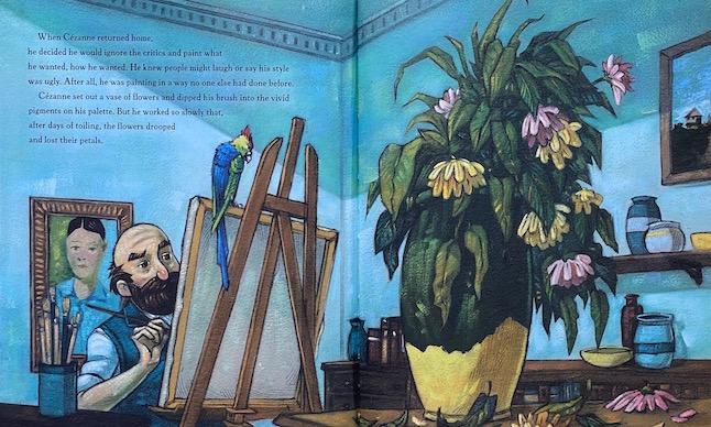 Cezannes-Parrot-SPREAD