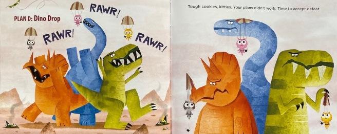 kitties-on-dinosaurs-SPREAD